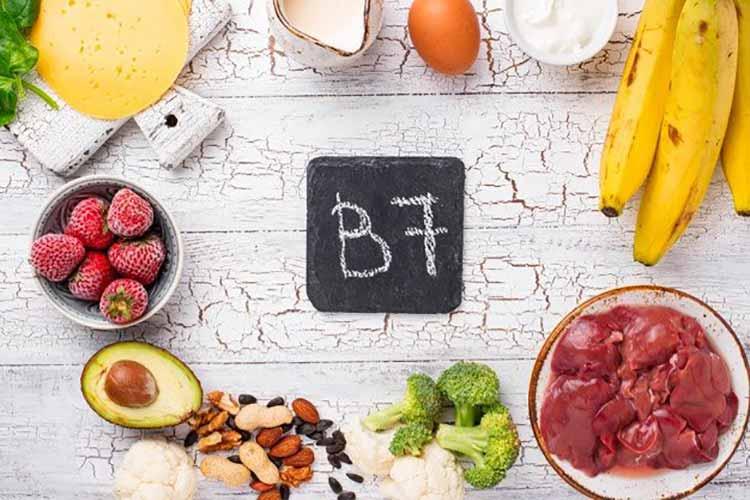 منابع ویتامین B7