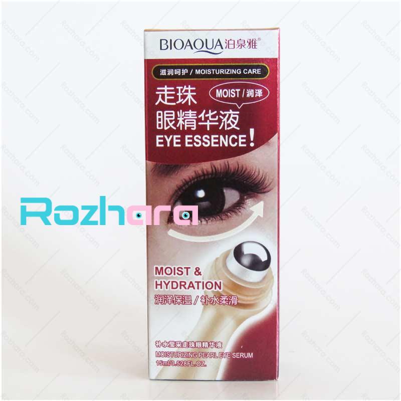سرم تخصصی ماساژوردار دور چشم بیوآکوا BIOAQUA roll ball eye cream essence