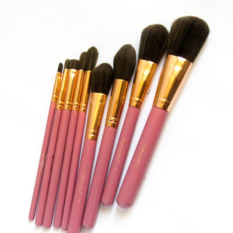 ست براش کیفی 9 تایی بی اچ کاز متیکس مدل ری ری BH Cosmetics It's My Raye Raye 9 Piecs Brush Set