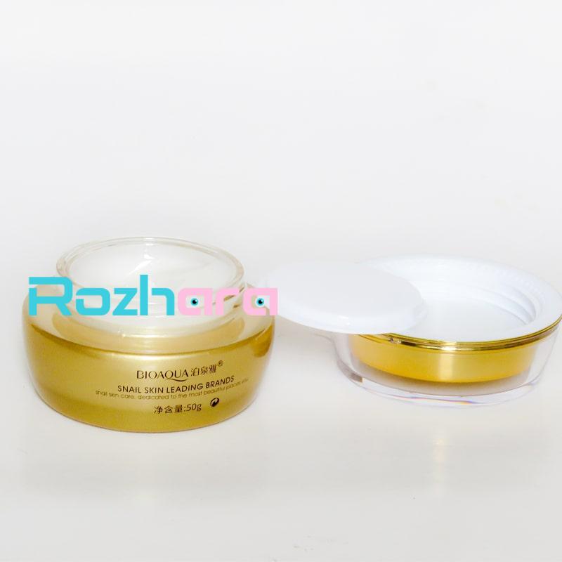 کرم آبرسان حلزون بیوآکوا BIOAQUA Snail Skin Leading Brands
