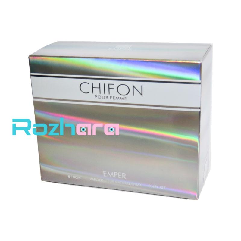 ادکلن امپر چیفون زنانه  Emper Chifon for women با جم 100 میل