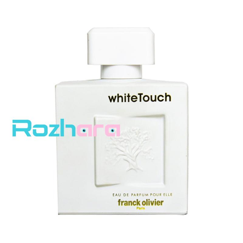 عطر ادکلن فرانک الیور وایت تاچ  Franck Olivier White Touch حجم 100 میل