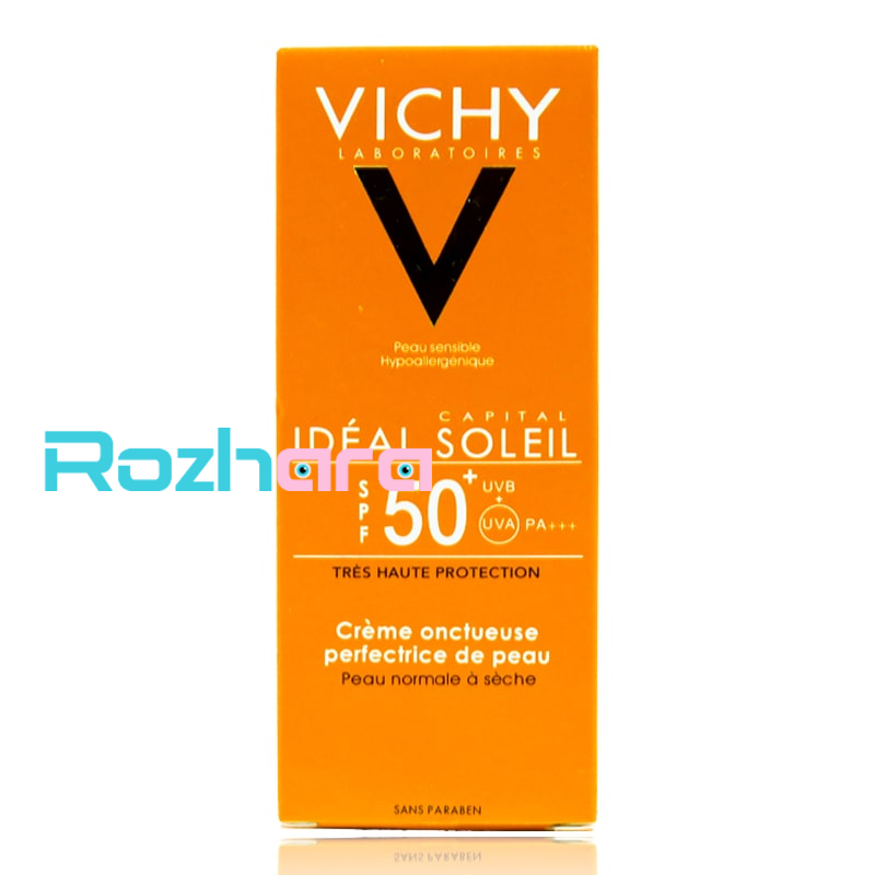 کرم ضد آفتاب بی رنگ ویشی اورجینال مدل VICHY IDEAL SOLEIL