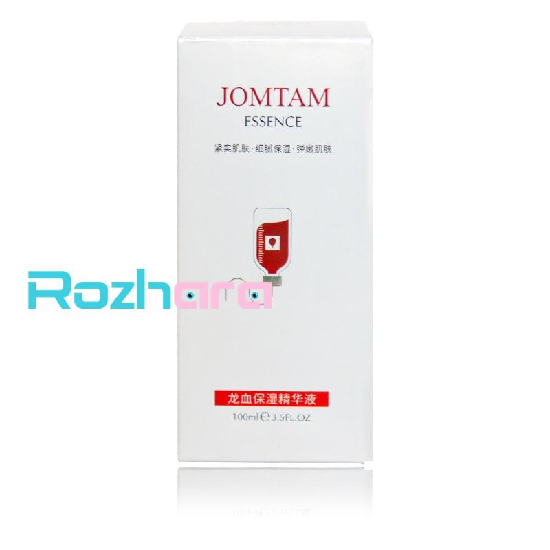 اسانس مرطوب کننده دو فاز خون اژدها ESSENCE JOMTAM حجم 100 میل