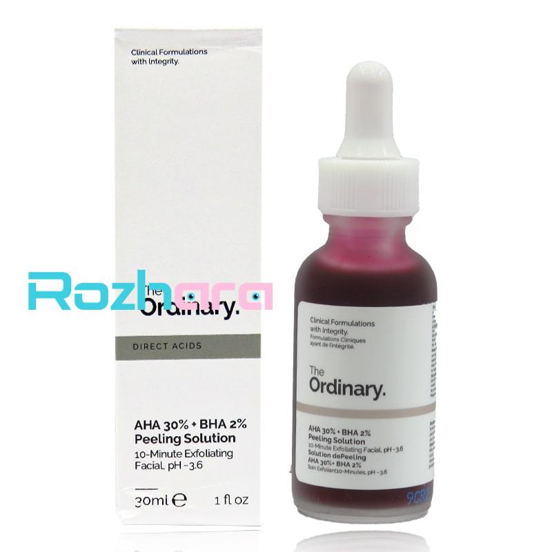 سرم درمانی پاکسازی پوست اوردینری اصلی ordinary