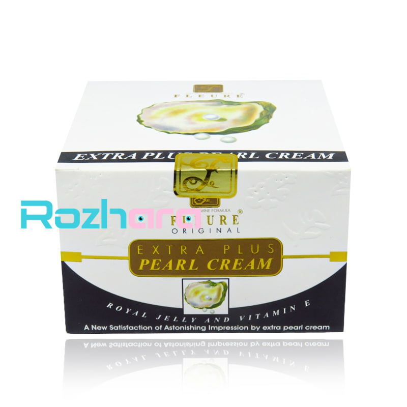 کرم گونه گذار فلور Fleure Extra Plus Pearl Cream 70gr