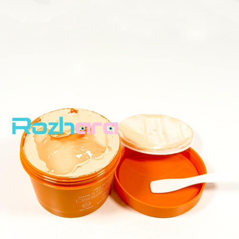 ماسک ضد پیری و آبرسان استلین Estelin عصاره ویتامین C و زردچوبه