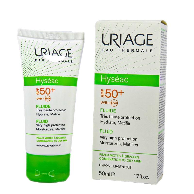 کرم ضد آفتاب اوریاژ مدل URIAGE Hyseac با SPF50 حجم 50 میل