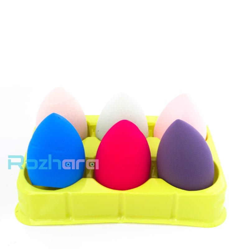 پد تخم مرغی پک 6 عددی